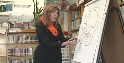 Children's Author Judith Caseley Shows Elementary School Kids how to Become Authors