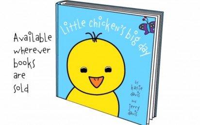 Little Chicken's Big Day Award Winning Book Trailer