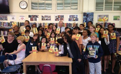 James Patterson Donates Books to NYC Middle Graders