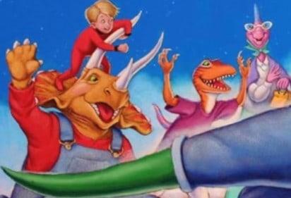 Dinosaur Train Picture Book Trailer