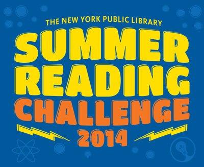 NYPL Summer Reading Challenge 2014
