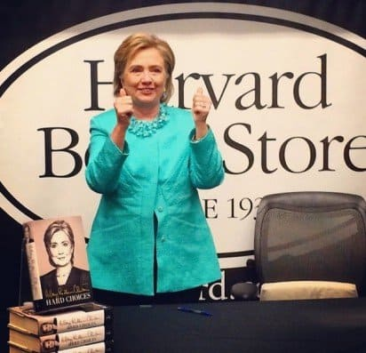 Clinton Events Put Spotlight on Indie Booksellers