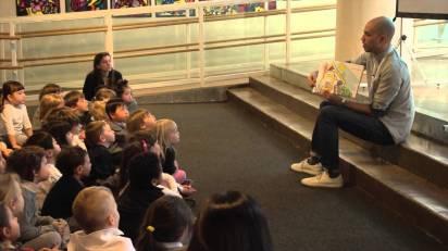 Children's Book Author, Greg Foley, visits Avenues