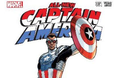 Black Captain America Leads Comic Books Into Diversity