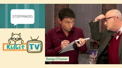KidLit TV   StoryMakers with George O'Connor