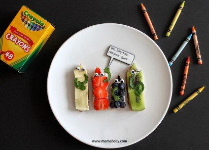 Literary Lunch. . . The Day The Crayons Quit