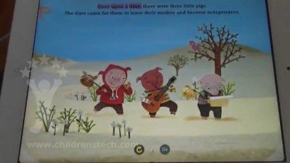 Three Little Pigs: Star Tale – Interactive Fairy Tales for Kids