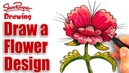 Draw a Flower for Mother's Day