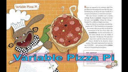 Variable Pizza Pi for National Pi Day 2015