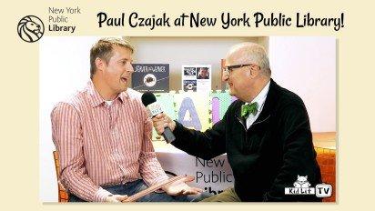 Paul Czajak at NYPL Battery Park City!