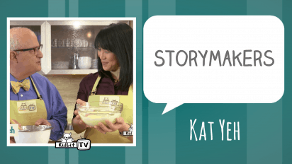 StoryMakers in the Kitchen Kat Yeh and THE TRUTH ABOUT TWINKIE PIE!