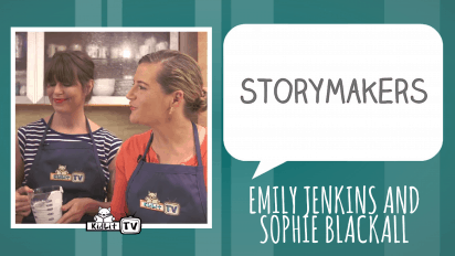 StoryMakers in the Kitchen Emily Jenkins and Sophie Blackall Create A FINE DESSERT!