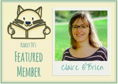 Claire O'Brien – KidLit TV Featured Member