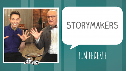 Talking and Tap Dancing with Tim Federle!