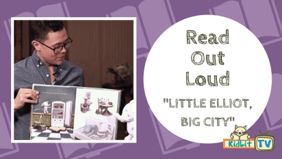 Read Out Loud: Mike Curato's LITTLE ELLIOT, BIG CITY