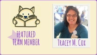 Featured Team Member   Tracey M. Cox's Yummy Reads