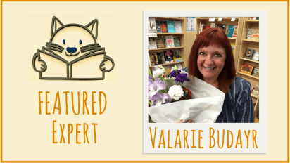 Featured Expert   Jump Into a Book's Valarie Budayr