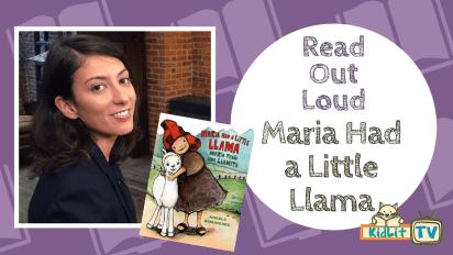Read Out Loud   Maria Had A Little Llama (Bilingual)