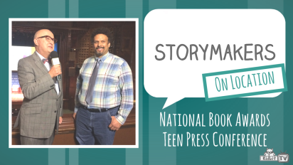 StoryMakers OnLocation   National Book Awards Teen Press Conference