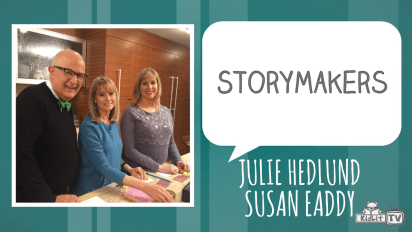 StoryMakers in the Kitchen: Julie Hedlund & Susan Eaddy