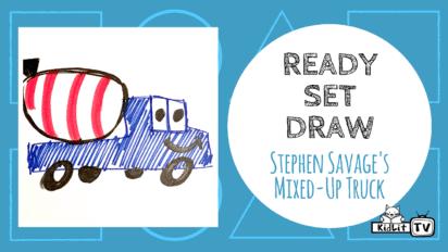 Ready Set Draw! MIXED-UP TRUCK