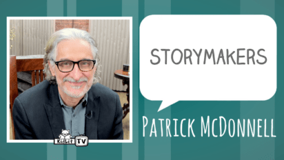 StoryMakers with Patrick McDonnell TEK: THE MODERN CAVE BOY