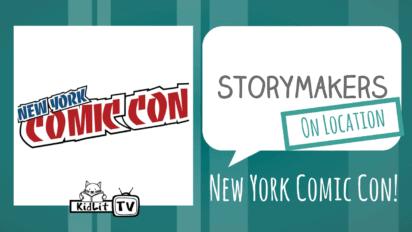 StoryMakers On Location: NY Comic Con!