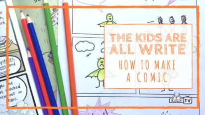 The Kids Are All Write: How to Make a Comic