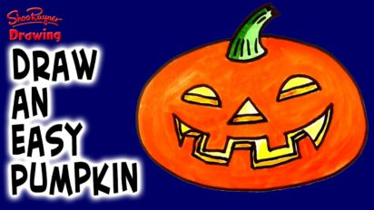 How to Draw a Pumpkin!