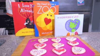 Valentine's Day Cookies   Story Time Snacks