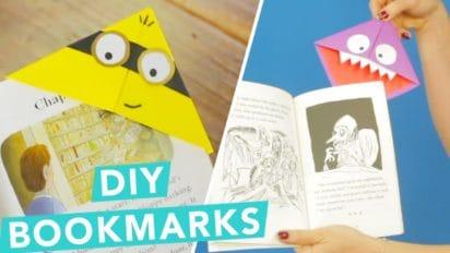 Easy DIY Children's Bookmarks