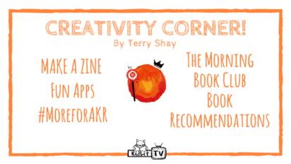 Creativity Corner: Make a Zine and more!