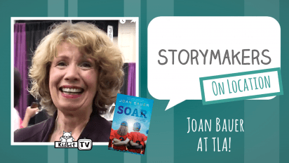 StoryMakers On Location: Joan Bauer at TLA