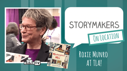 StoryMakers On Location: Roxie Munro at TLA
