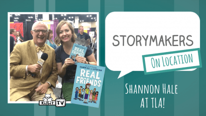 StoryMakers On Location: Shannon Hale at TLA
