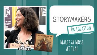 StoryMakers On Location: Marissa Moss at TLA
