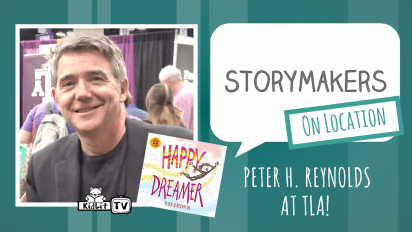 StoryMakers On Location: Peter H. Reynolds at TLA