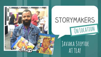 StoryMakers on Location: Javaka Steptoe at TLA