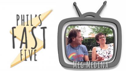 Phil's Fast Five with Meg Medina