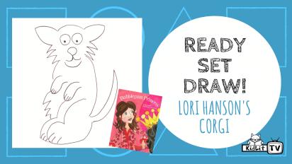Ready Set Draw! Lori Hanson Draws a Corgi