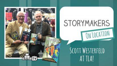 StoryMakers On Location: Scott Westerfeld at TLA