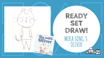 Ready Set Draw! TEA WITH OLIVER