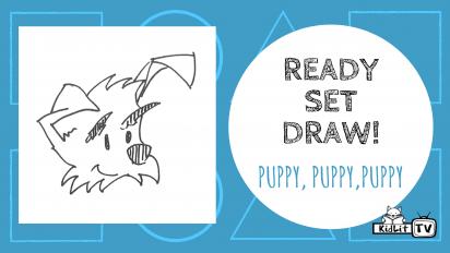 Ready Set Draw! PUPPY, PUPPY, PUPPY!
