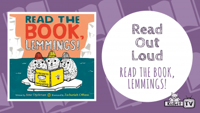 Read Out Loud:  READ THE BOOK, LEMMINGS!