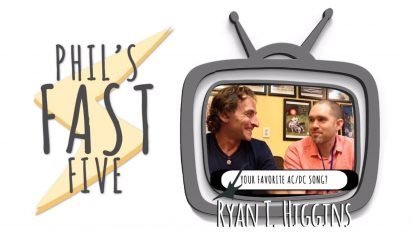 Phil's Fast Five with Ryan T. Higgins