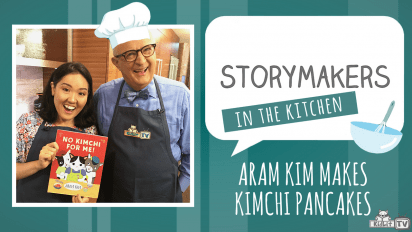 StoryMakers in the Kitchen with Aram Kim