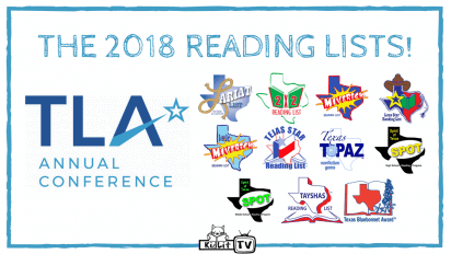 Check out the Texas Library Association's Reading Lists!