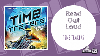 Annabeth and Connor READ ALOUD | TIME TRACERS