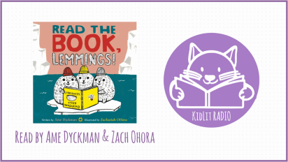 KidLit RADIO:  READ THE BOOK, LEMMINGS! Read Out Loud