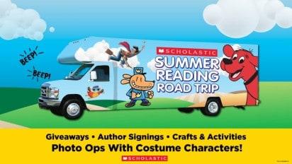 Summer Reading Road Trip!